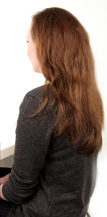 Haarteil einfrisiert